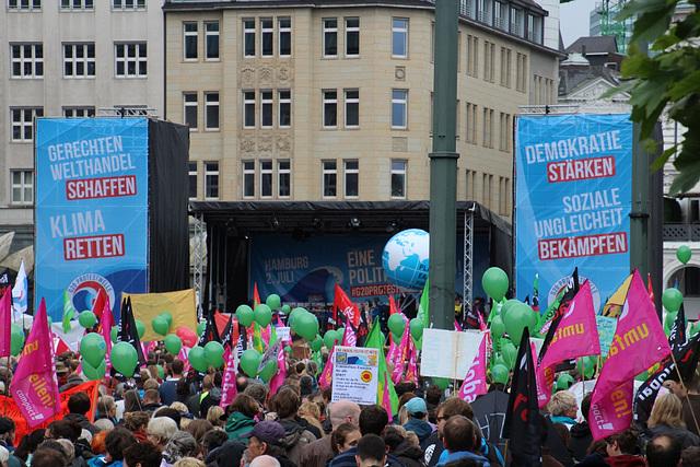 Welthandel - Klima - Demokratie