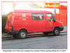 Royal Mail LDV Pilot Van East Dulwich SO 29 10 2007