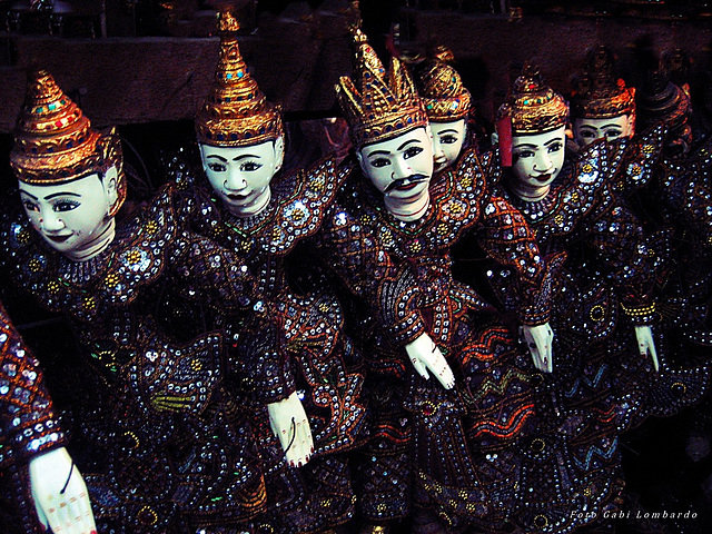 puppets (Puppet Theater Yangon/Myanmar)