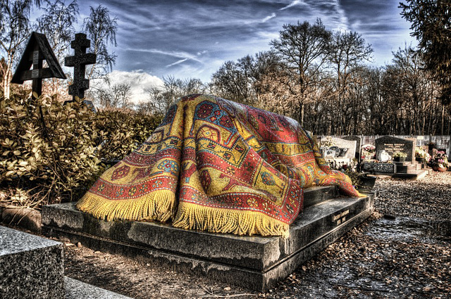 tombe de Rudolf Noureev,