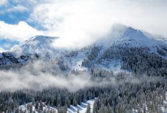 Wintereinbruch in Südtirol