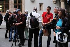 Residenzschloss Dresden: Staunen und Diskussion...