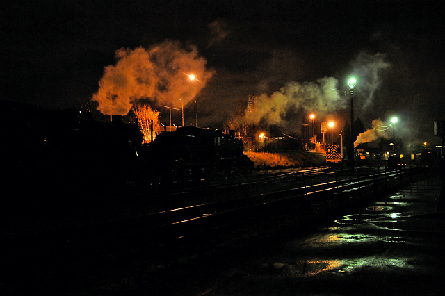 Great Central Railway Loughborough Leicestershire 27th January 2012