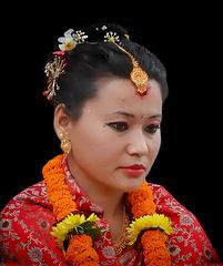 young nepali bride