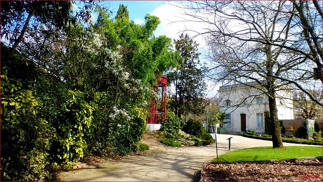 Le parc du Jardin des Plantes...