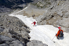 Descent from Watzmann
