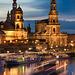 Abends in Dresden
