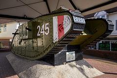 WW1 tank, Ashford