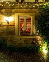 Fenster zum Restaurant