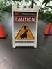 Caution Ice Cream Scooper Overhead!