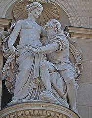 4 (16)...Statue statuary skulpuren sculpures..austria vienna