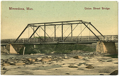 MN1001 MINNEDOSA - UNION STREET BRIDGE