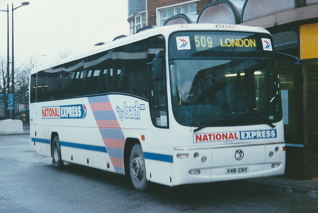 Bebb Travel X48 CNY at Cardiff - 27 Feb 2001