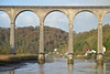 Cornwall, Calstock Viaduct across Tamar River