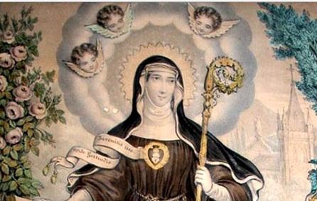 Sainte Gertrude d'Helfta