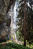 The 'Veil Cascade' in the 'Emperor Mountains' (Tyrol)