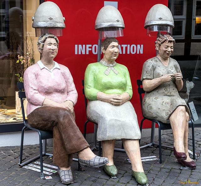 "Christel Lechner: ""Beim Friseur"""