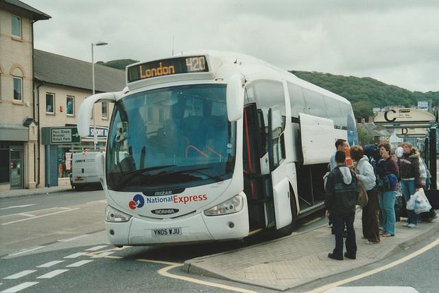 Bebb Travel YN05 WJU at Aberystwyth - 28 Jul 2007