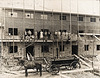 Neubau der Burgmühle Bauer nach dem Brand 1933