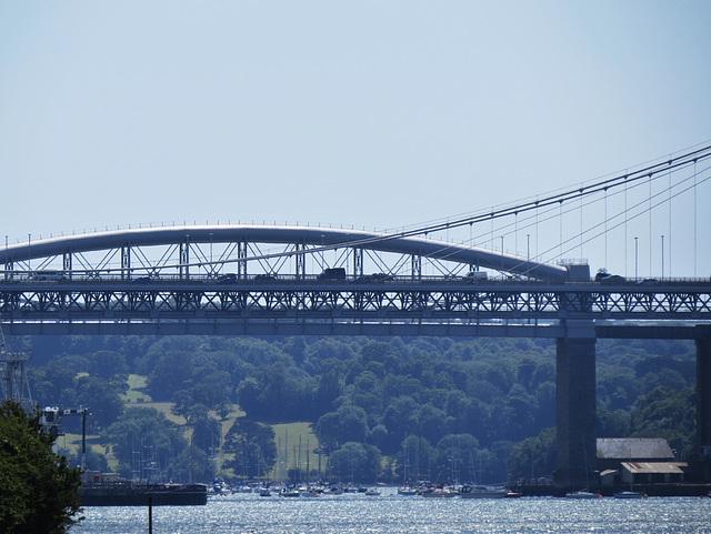 tamar bridges, plymouth