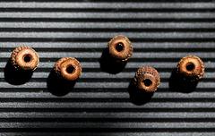 graines thunbergia sur une portée