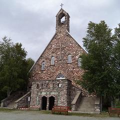 The Flintstones church / L'église des Pierrafeu