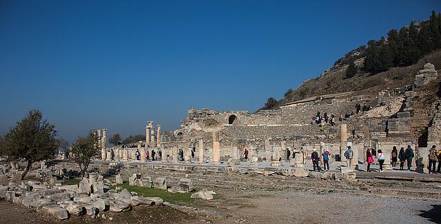 20151207 9649VRAw [R~TR] Basilike Stoe, Ephesos, Selcuk - Kopie