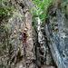 Climbing Inside Rio Secco (Italy)