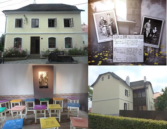 Příbor - Muzeo en la naskiĝdomo de Sigmund Freud