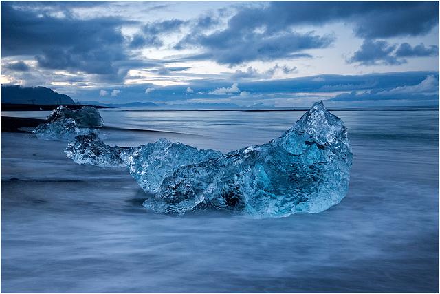 At the ice coast