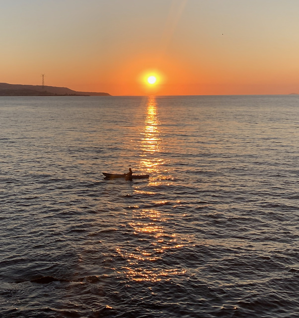 Scilla, tramonto