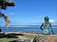 Saint-Pierre (974 Ile de la Réunion) 26 juin 2021. La petite Sirène des antipodes!!!!