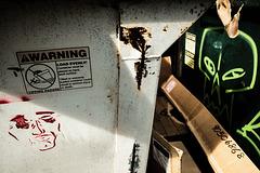 Dumpster face / Cara de basura / Visage poubelle