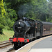 43924 enters Oxenhope station.
