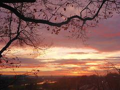 Sonnenuntergang über Dresden - sunsubiro sur Dresdeno