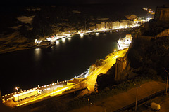 Bonifacio Harbor at Night