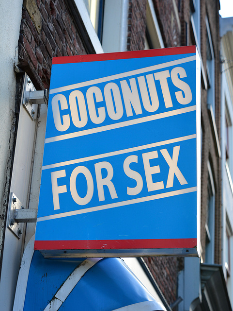 Coconuts for sex