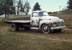 1952 Chevrolet 1 1/2 ton flatbed