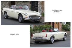 1965 MG East Blatchington 23 8 2013