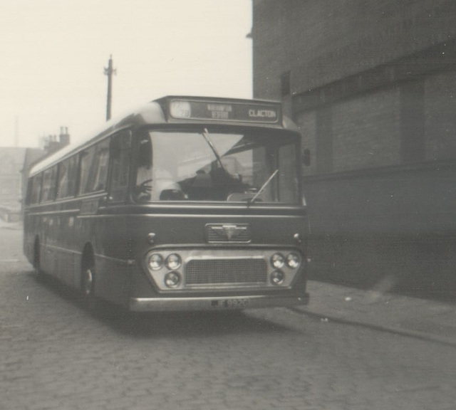 196/01 Premier Travel Services LJE 992G in Rochdale - 19 Jun 1970