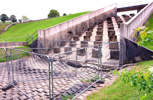 Water damage (HFF).