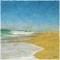 ...à la plage...