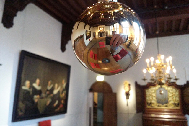 Inside the Frans Hals Museum
