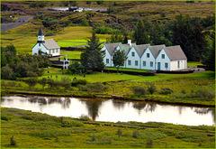 la chiesa di Pingvellir - Reykjavik - (554)