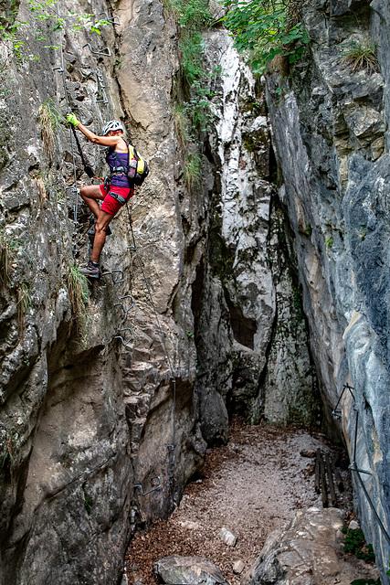 Gorge 'Rio Secco' - The Entrance