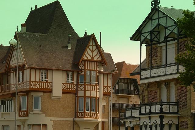 Deauville bord de Mer