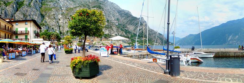 Limone sul Garda. Uferpromenade. ©UdoSm