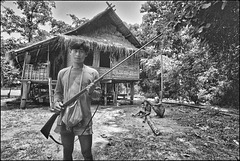 Village de chasseurs-cueilleurs