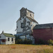 An old grain elevator with character