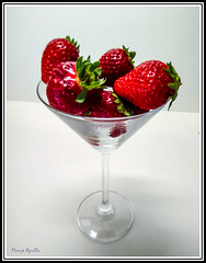 Copa de fresas